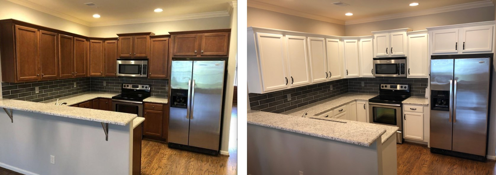 before and after remodel